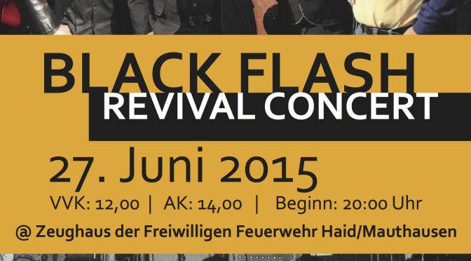 Black Flash Revival Concert