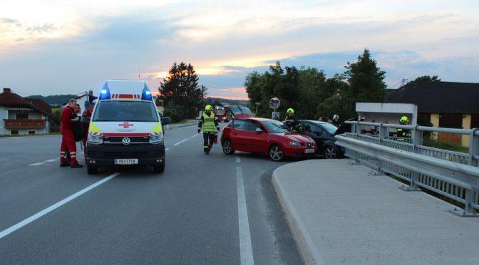 """Verkehrsunfall bei """"Sebinger"""" Brücke"""
