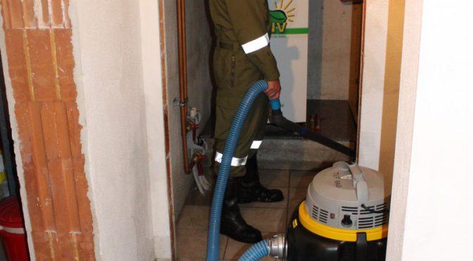 Wasserrohrbruch sorgt für nächtlichen Einsatz der FF-HAID
