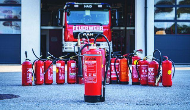 Sicherheit im Eigenheim – Feuerlöscherüberprüfung bei der FF Haid